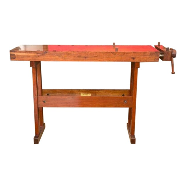 Rhodesian Teak Work Bench - Image 1 of 9