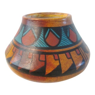 Vintage Mexican Pottery Pot
