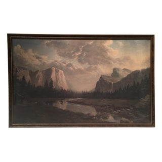 Sierra Sunrise Lithograph by D. John Massaroni