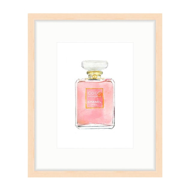 Image of Chanel COCO Mademoiselle Perfume Framed Art Print