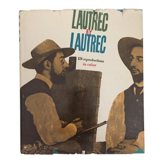"""Lautrec by Lautrec"" 1968 Book"
