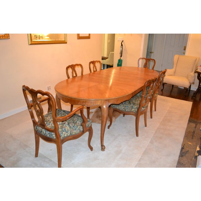 Kindel French Provincial Dining Table Chairish