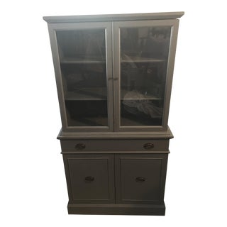 Vintage Refinished China Hutch