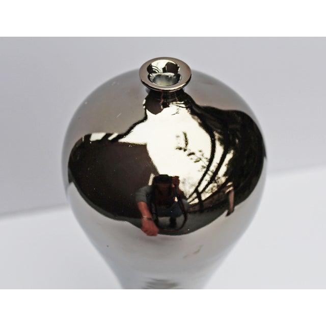 Bungalow 5 Baluster Metallic Vases - Pair - Image 5 of 8
