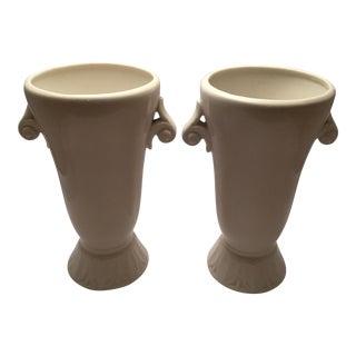 Abingdon Pottery Mid-Century Vases - a Pair