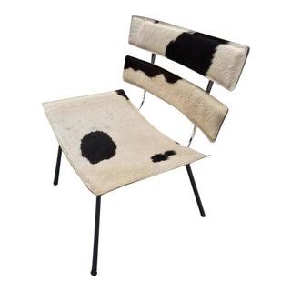 Cowhide & Chrome Eames Style Chair