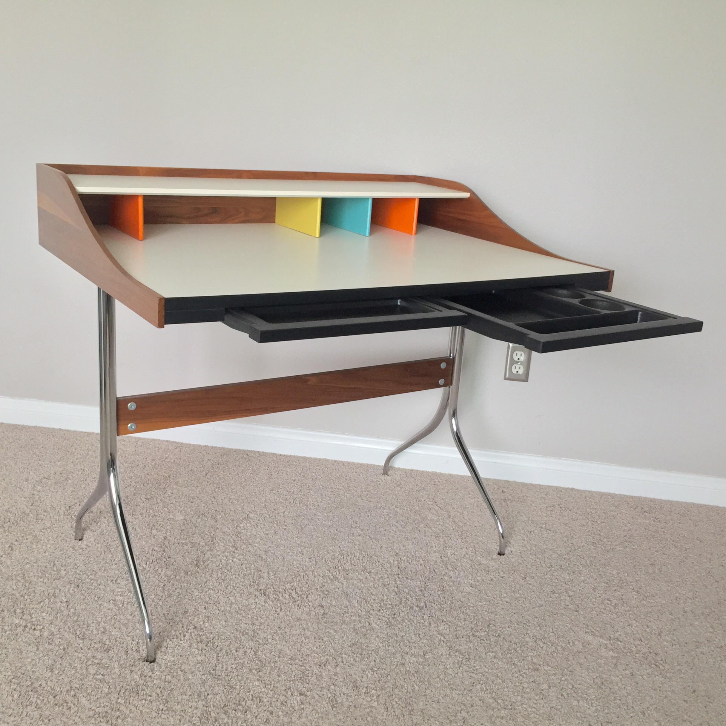 George Nelson For Herman Miller Swag Leg Desk Chairish