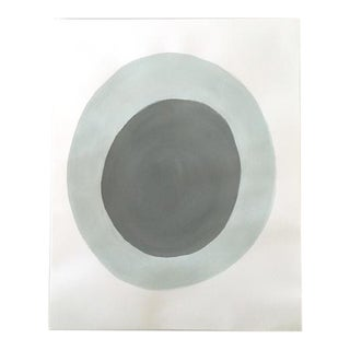 "Neicy Frey ""Dot No. 28, Overcast"" Original Painting on Paper"