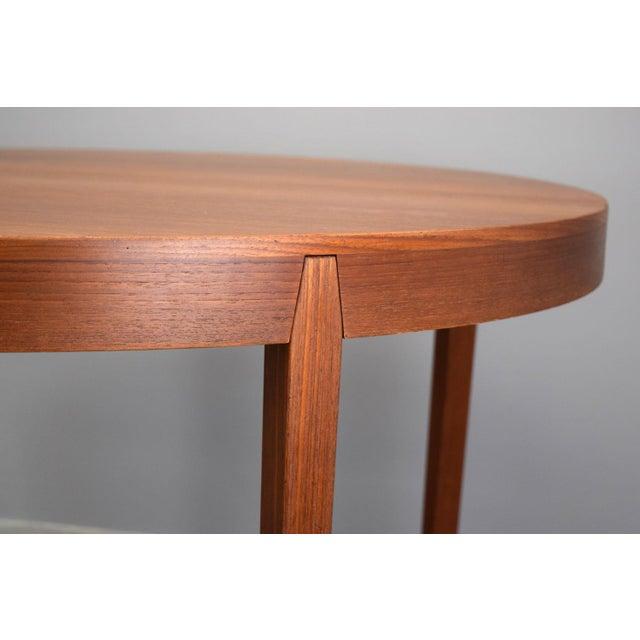 Hornslet Møbelfabrik Danish Teak Dining Table w/ 2 leaves - Image 4 of 11