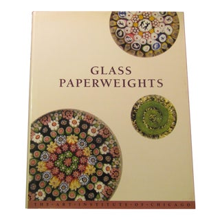 Glass Paper Weights Coffee Table Book