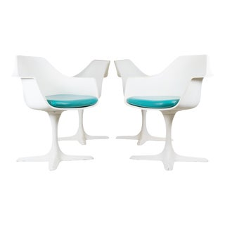 Burke Tulip Dining Chairs - Set of 4