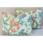 Image of Designer Stroheim Romann Floral Pillows- A Pair