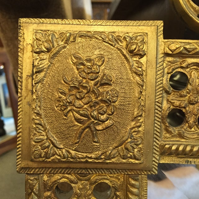 Gilded French Iron Mirrors - A Pair - Image 5 of 10