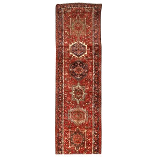Fine Vintage Persian Heriz Runner