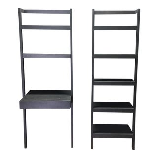 Sawyer Leaning Bookcases - A Pair