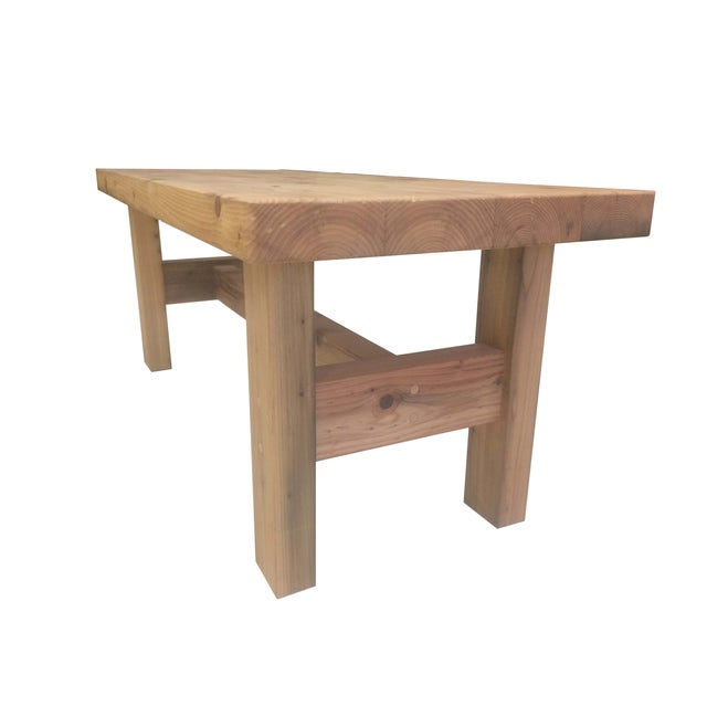 Reclaimed Vintage Cedar Coffee Table Chairish