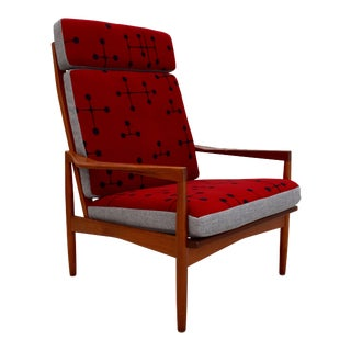 Danish Mid-Century Teak Lounge Chair