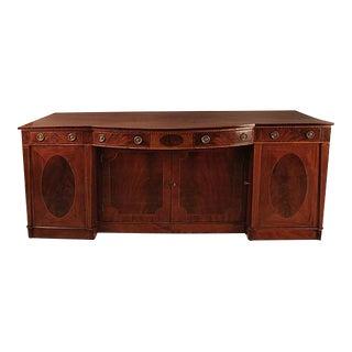 George III Period Mahogany Sideboard