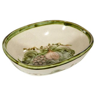 Ceramic Grapevine Serving Bowl