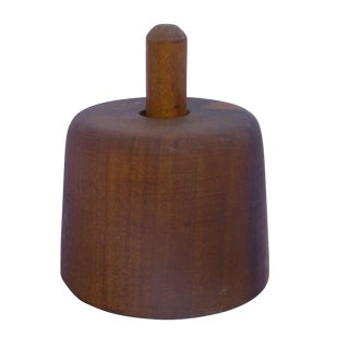 Danish Modern Teak Cookie Press