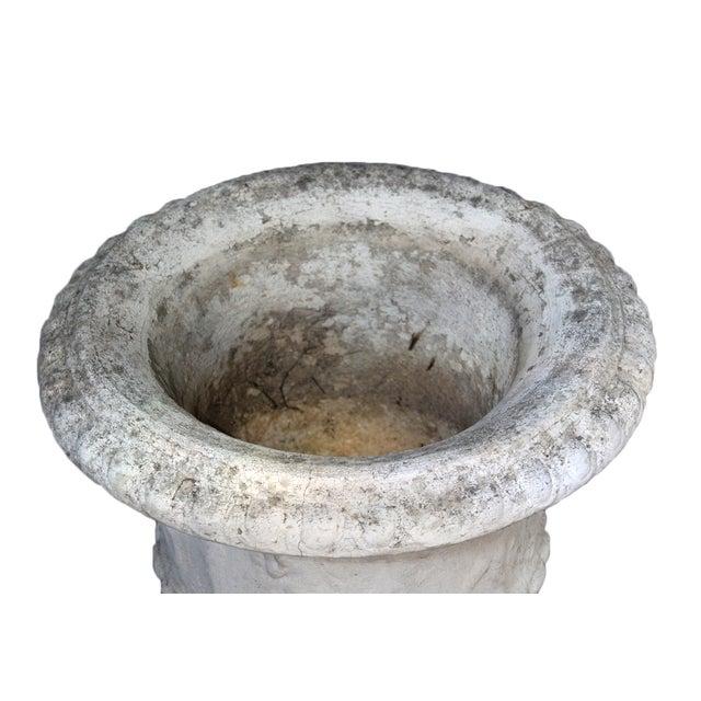 Antique Cement Urn - Image 4 of 4
