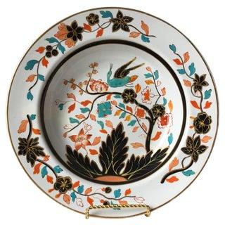 Antique English Staffordshire Chinoiserie Bowl