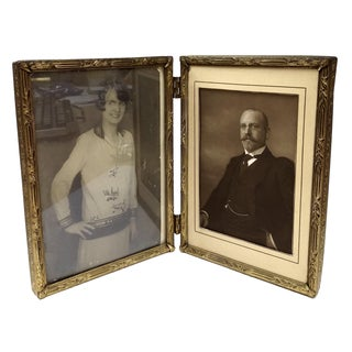 Antique Victorian Folding Frame