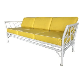 Meadowcraft Faux Bamboo Outdoor/Indoor Sofa
