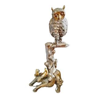 Brass Owl Figureine