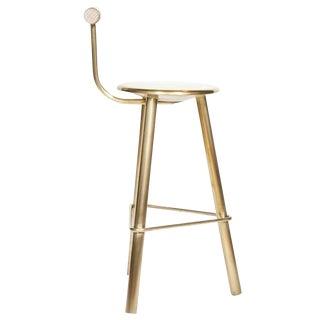 Erickson Aesthetics Brass Stool