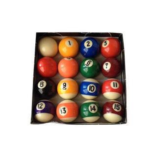 Mini Pool Balls - Set of 12