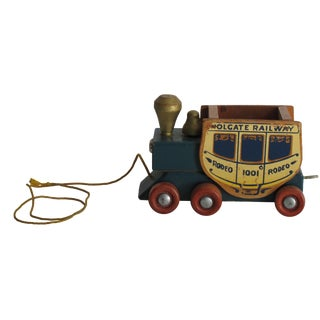 Wooden Pull Train
