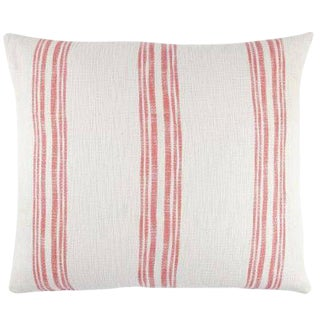 John Robshaw King Euro Guava Pillow Cover - 30x34