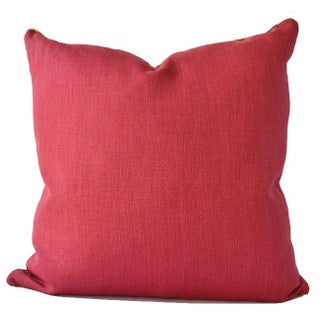 Avosetta Home Sherbet Pink Linen Pillow
