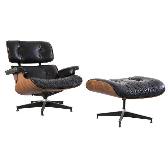 Eames 670 + 671 Lounge Chair & Ottoman - Image 1 of 7
