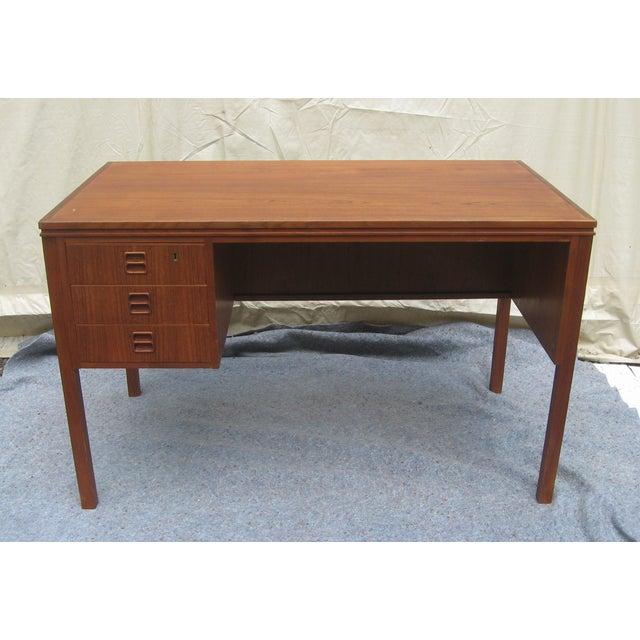 Mid Century Danish Modern Desk - Image 2 of 6