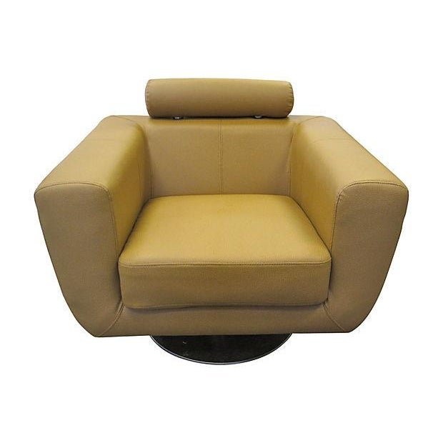 Milo Baughman Swivel Lounge Chair - Image 1 of 3