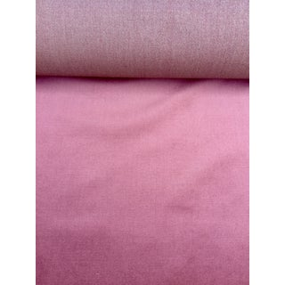 Purple Velveteen Upholstery Fabric