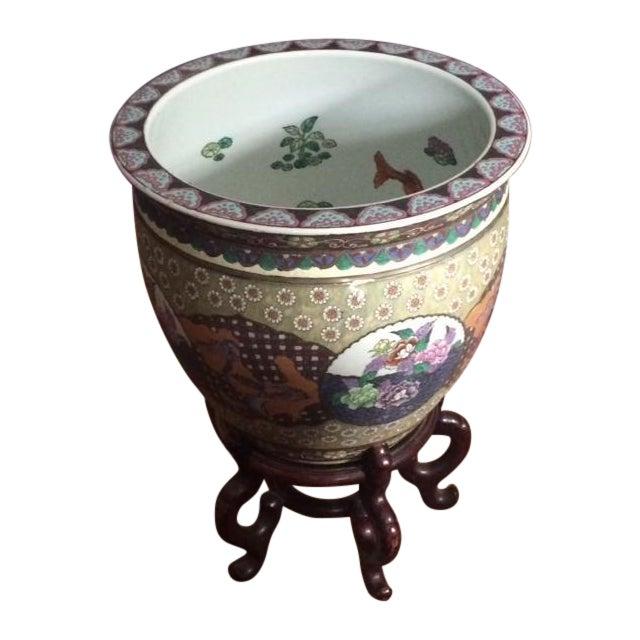 Koi Fish Bowls - Pair - Image 1 of 7