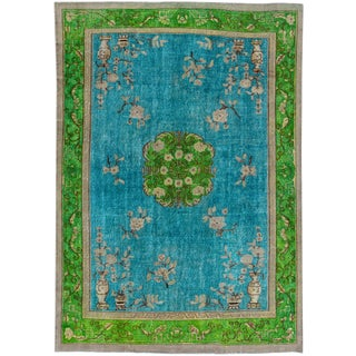 "Apadana Turkish Revival Overdyed Rug - 7'7"" X 10'1"""