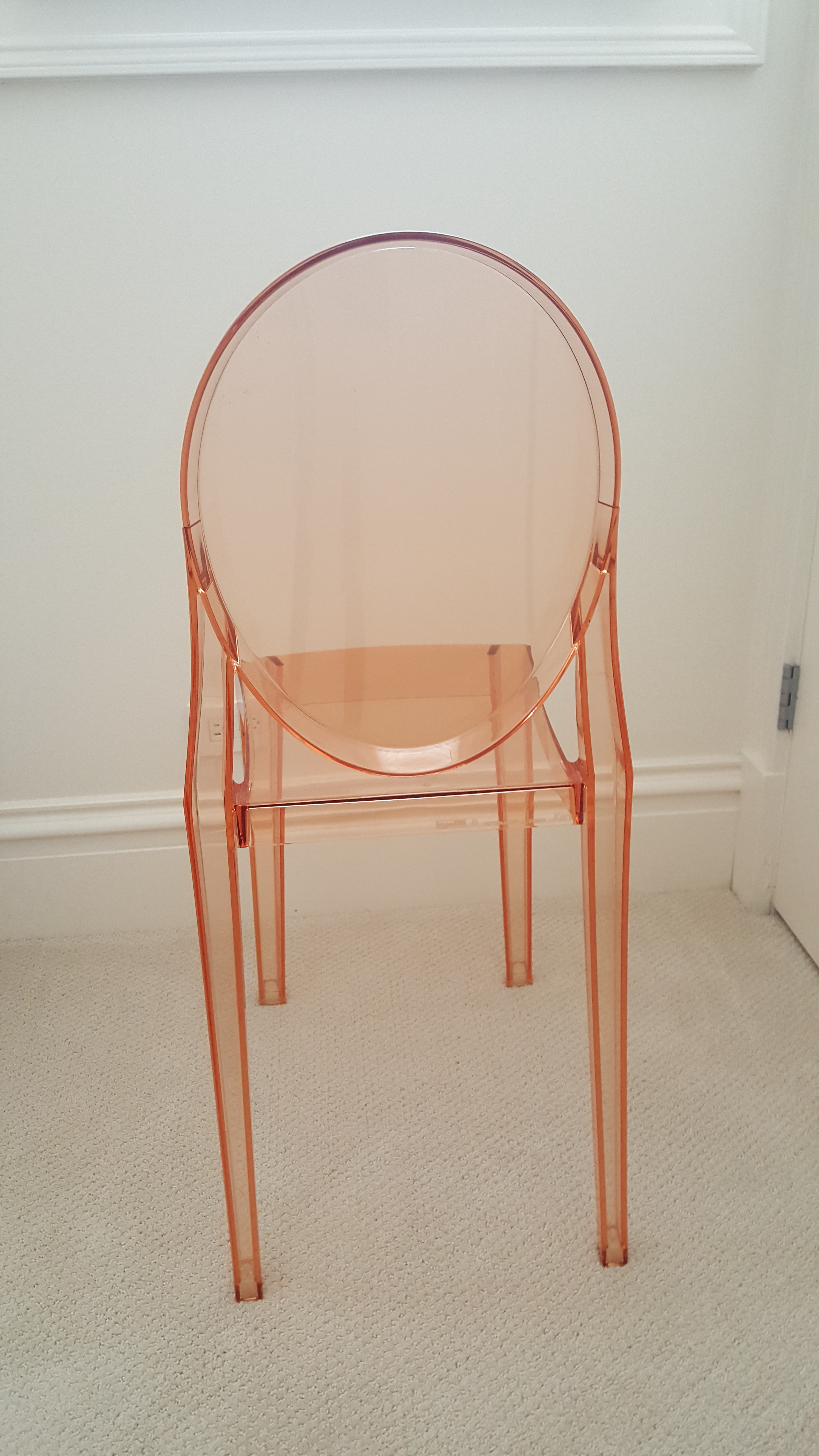 Kartell Polycarbonate Ghost Chair   Image 4 Of 4