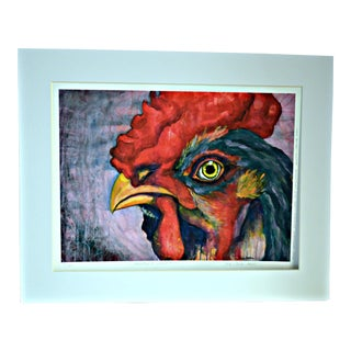 'Rooster's Dream' Watercolor Print