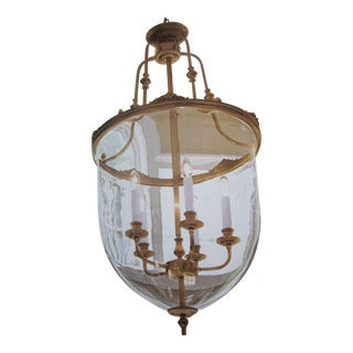 Two French Modern Neoclassical Chandeliers/ Lanterns