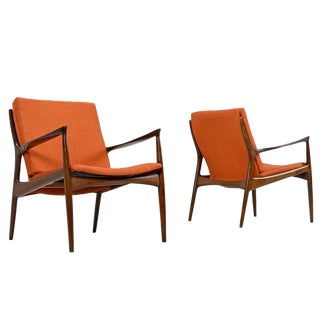 Peter Hvidt Orla Molgaard Chairs - A Pair