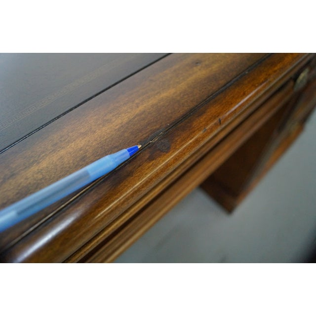 Hooker Leather Top Executive Desk - Image 9 of 10