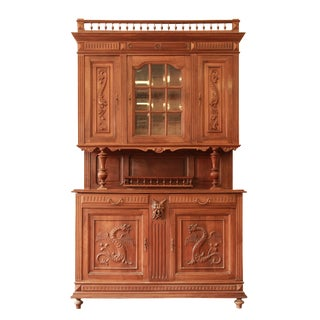 French Renaissance Revival Henri II-Style Cabinet