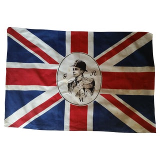 Vintage Traditional English King George Flag