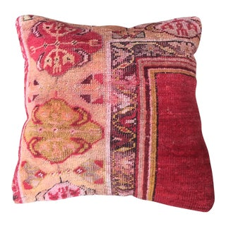 Antique Rug Fragment Pillow