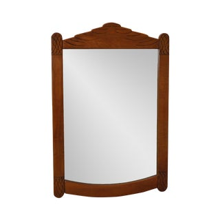 Virginia House Vintage Solid Maple Hanging Wall Mirror