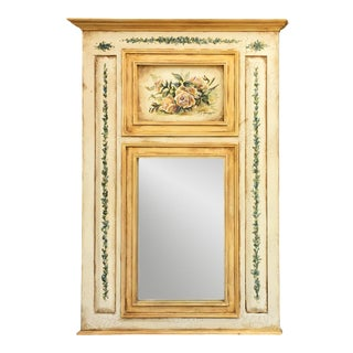 Hand Painted French Country Mirror